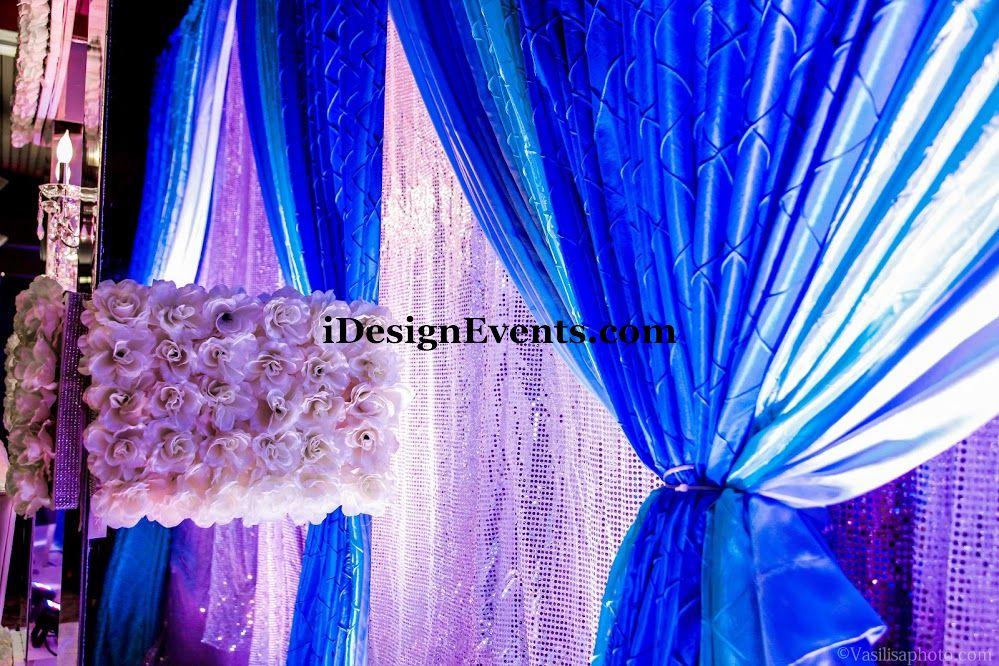 Blue  Aqua  Tiffany Blue  Silver  Wedding Decor Ideas  Backdrops
