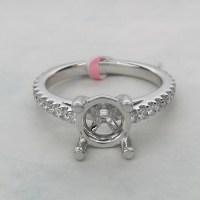 White Gold vs Platinum Engagement Ring