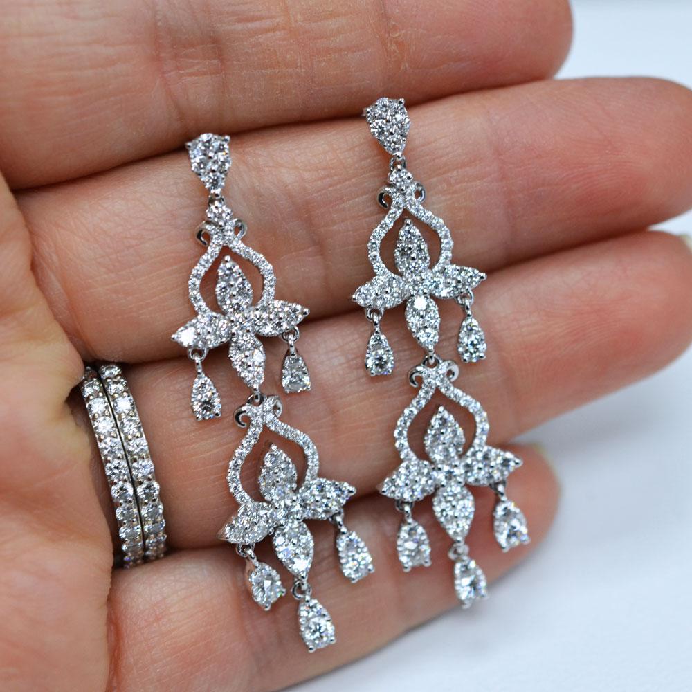 Women Diamond Earrings With Popular Inspirational In