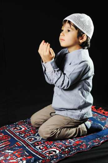 Image result for mother and child islam salah