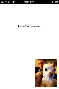 FaceCamViewer
