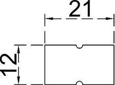 Etiquetadora-manual-Speedy-DB-H6-Etiqueta-Dimensões-MX