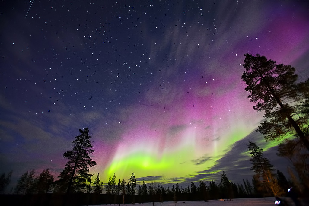 Finland Lapland Northern Lights Tour