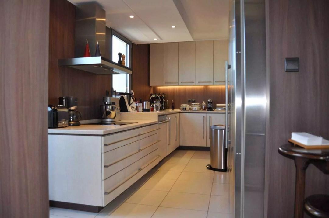 spot led na cozinha