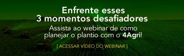 Webinar: A importância do planejamento do plantio agrícola na busca da produtividade