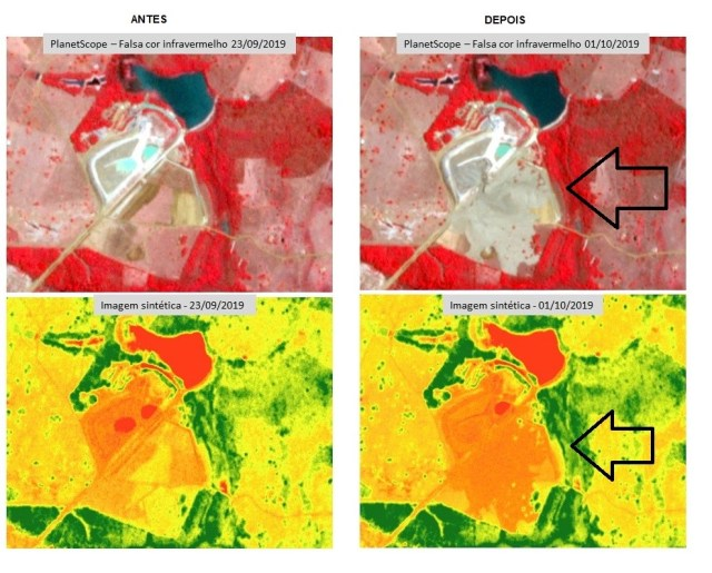 Estudo sobre o rompimento de barragem em Mato Grosso