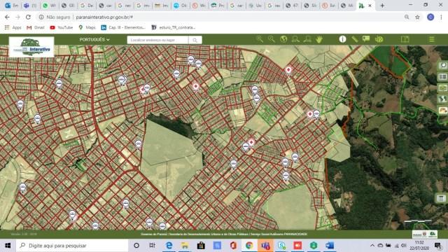 Estado do Paraná disponibiliza ferramenta inovadora baseada em GIS - imagem 1
