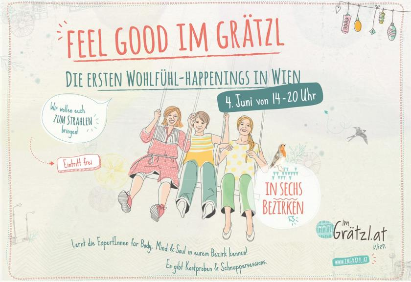 Feel good im Grätzl