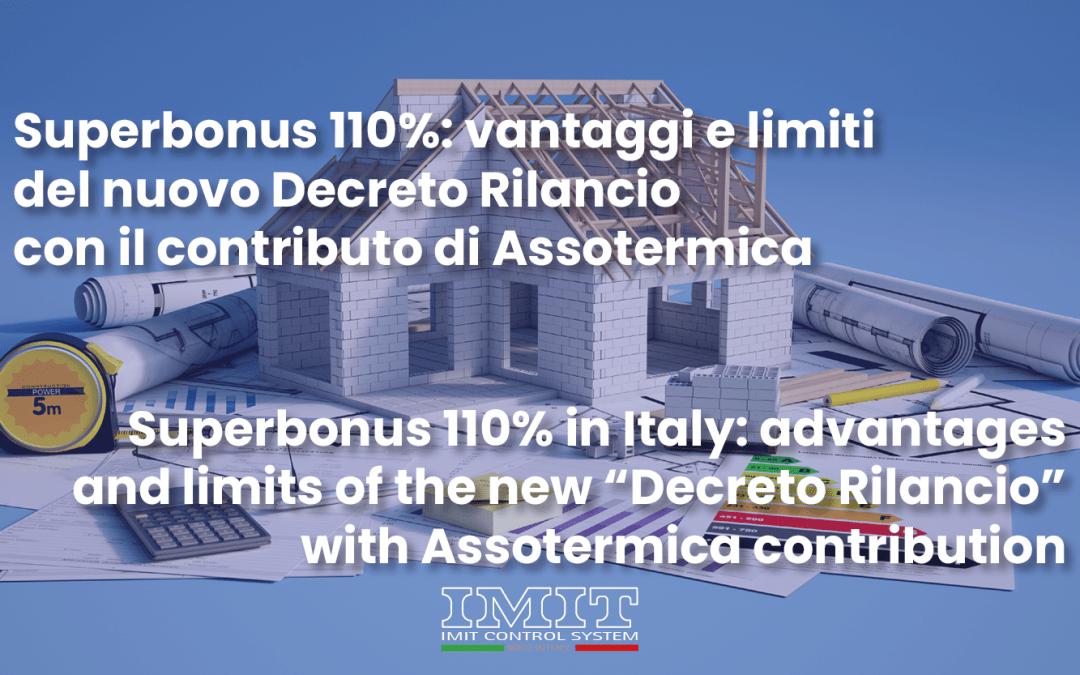 Superbonus 110%: vantaggi e limiti del nuovo Decreto Rilancio con il contributo di Assotermica