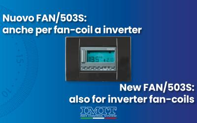 New FAN/503S: also for inverter fan-coils