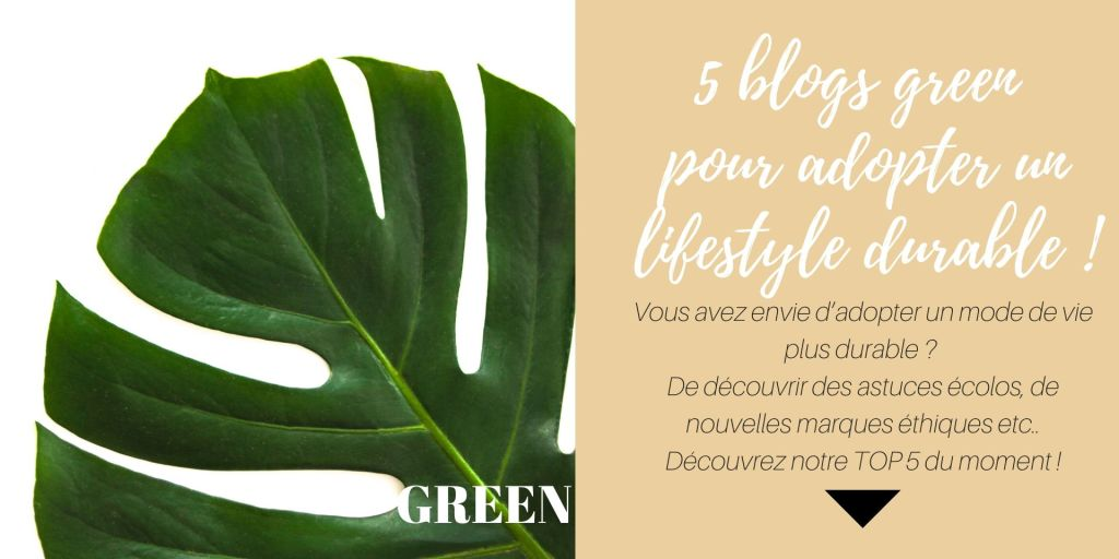 Blog green pour adopter lifestyle durable