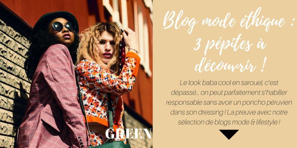 Blog mode éthique pour s'habiller plus responsable