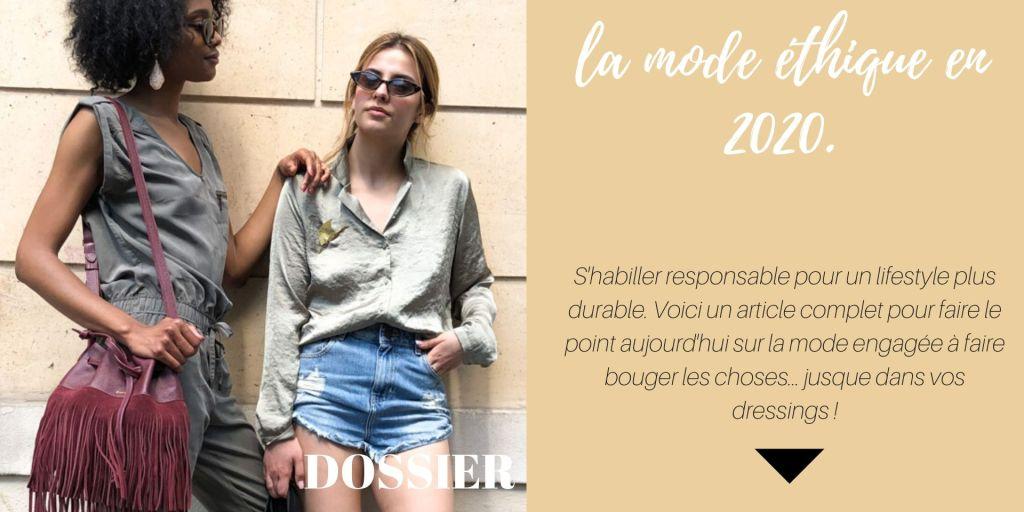 La mode éthique en 2020 : s'habiller responsable pour un lifestyle plus durable
