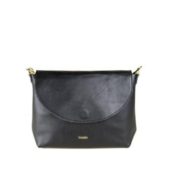 petit sac en cuir bandoulière noir