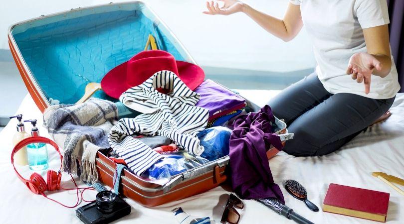 Le stress de préparer sa valise de vacances !