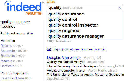 Indeed Resume  Free Open Search 1 Per Contact  Indeed Blog