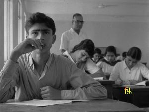 A still from Ritwik Ghatak's Scientists of Tomorrow