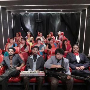 PCRC shooting their music video Love Demon