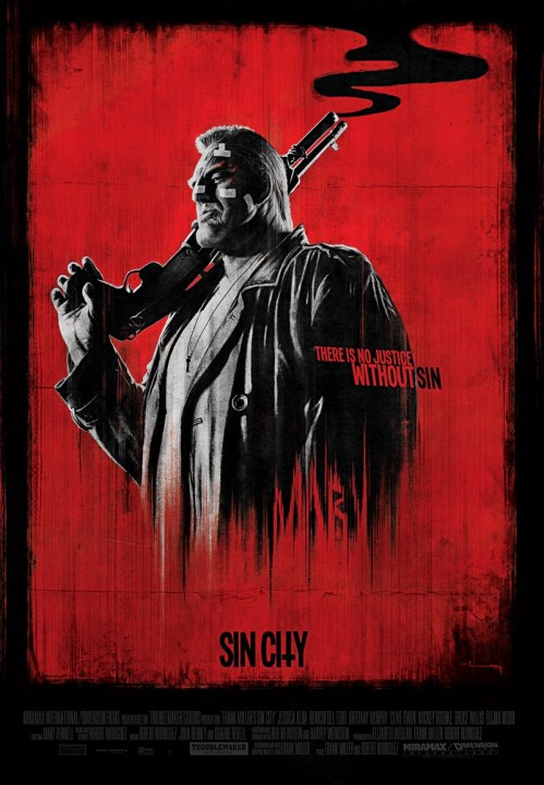 Sin City alternate movie poster made by Raj Khatri