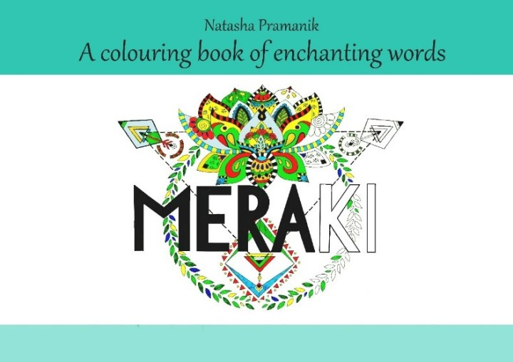 meraki colouring books for adults by natasha pramanik