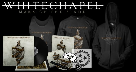 "Whitechapel's ""Mark of the Blade"" available for pre-order!"