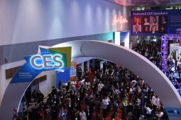 pubblico durante il CES di Las Vegas