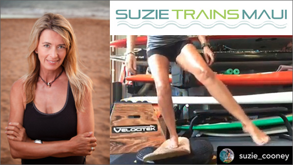 Suzie cooney Trains Maui