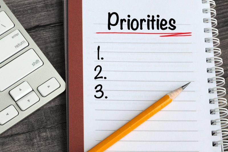 Susun Prioritas dengan Benar
