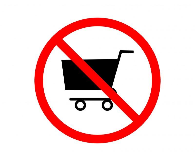 Stop Menggunakan Trolley