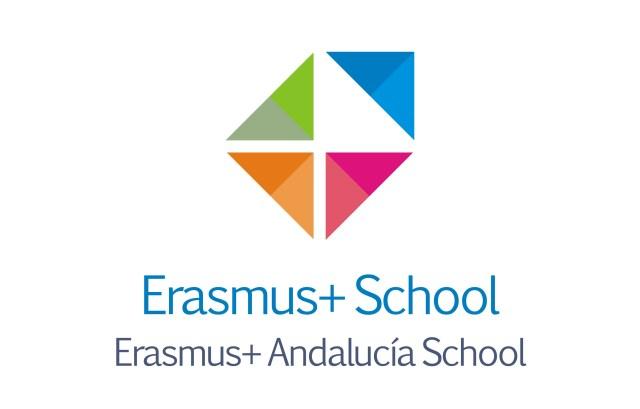 logo erasmus+ andalucia school