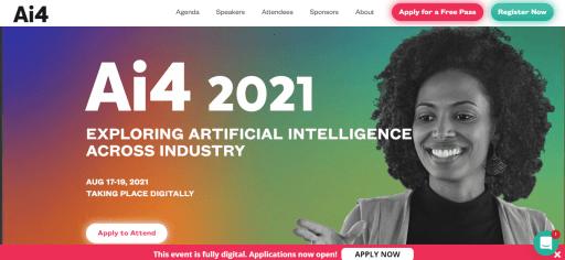 Ai4 2021 Event Website