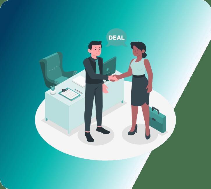 How do I negotiate with event company partners?
