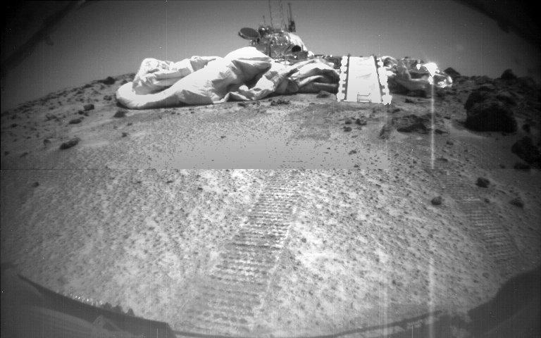 Mars Pathfinder on Mars