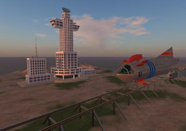 Space City In Opensim Austin Tate'