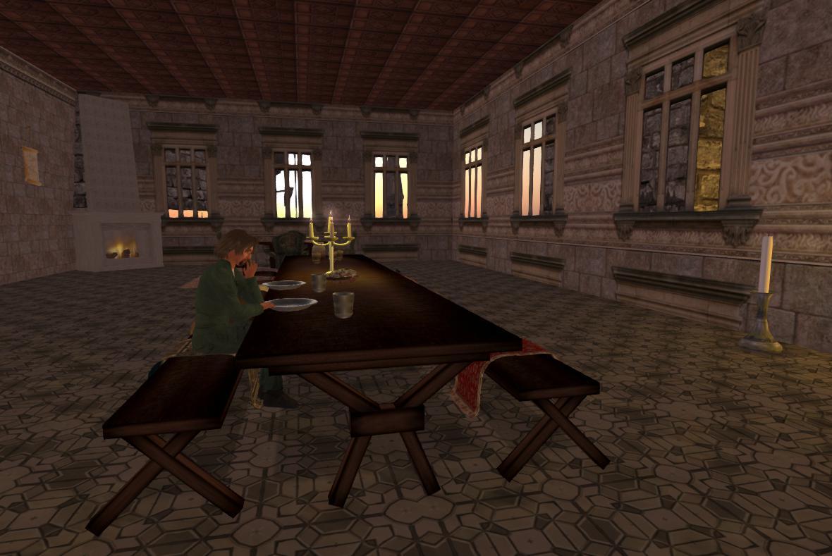 OpenSim OAR  Epic Castle  Austin Tates Blog