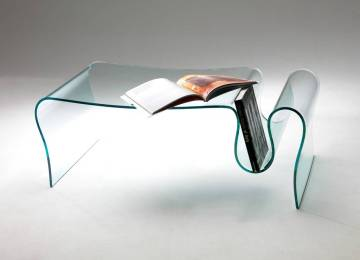 Tavolino Da Salotto In Vetro | Tavolino Da Salotto In Vetro Curvato ...