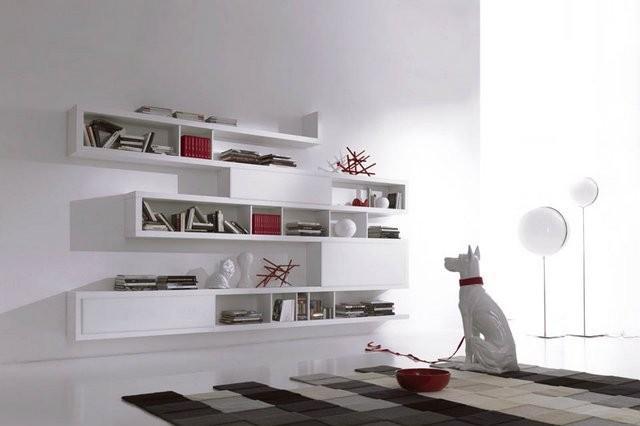 Set di 3 cubi mensole da parete in metacrilato klever. Mensole Da Muro Un Tocco Di Design Per Le Pareti
