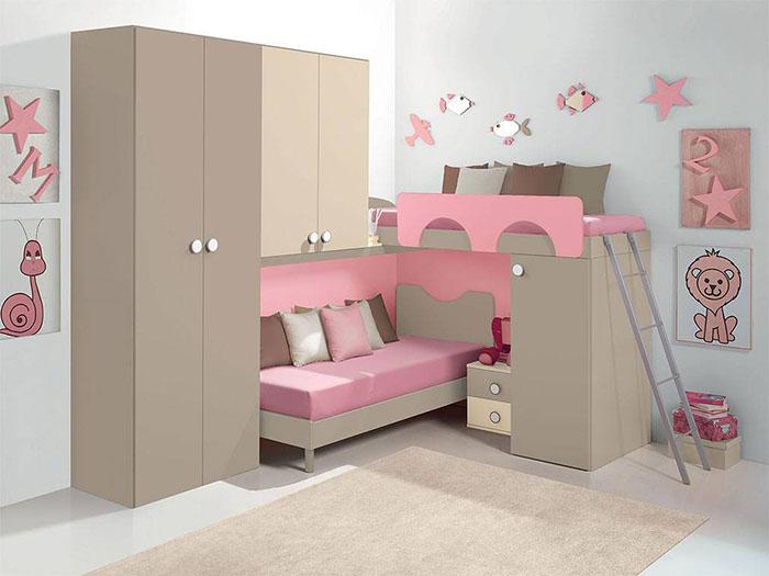 Idee salvaspazio per le camerette dei bambini  Infabbrica
