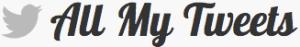 AllMyTweets permette di avere la lista completa dei tweets di un profilo.