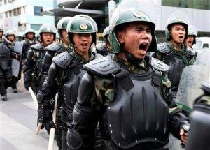 Polizia cinese