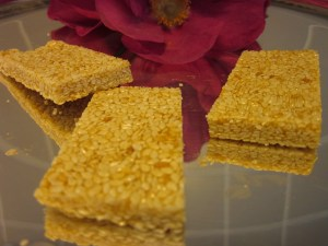 Recipe: Sesame Seed Honey Bars