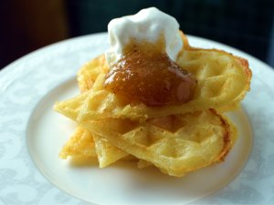 Recipe: Swedish waffles (frasvåfflor)