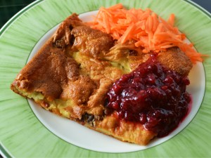 Recipe: Swedish ugnspannkaka or fläskpannkaka (oven pancake with pork)