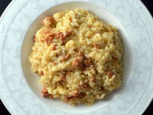 Recipe: Risotto with chorizo and the basics on how to cook risotto