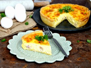 Recipe: The national dish of France – Quiche Lorraine