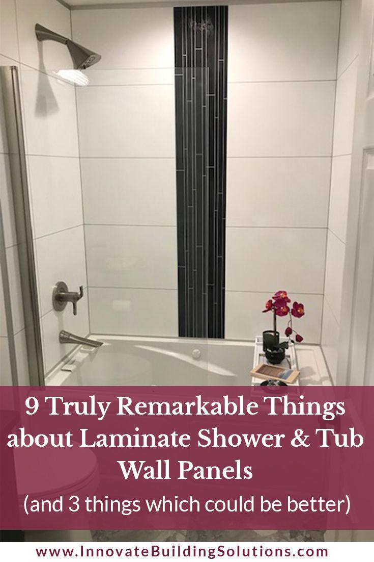 laminate shower tub wall panels