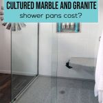 How Much Do Custom And Standard Sized Cultured Marble And Granite Shower Pans Cost Innovate Building Solutions Blog Home Remodeling Design Ideas Advice