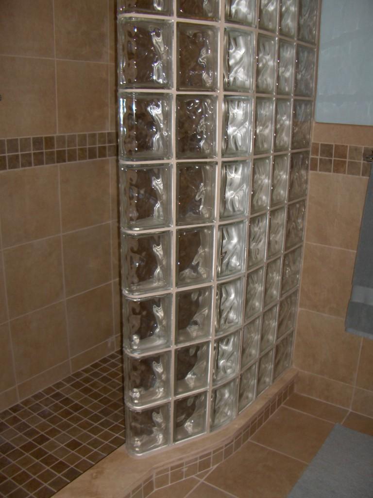 kitchen design dayton ohio small island ideas glass block shower wall sizes, shapes, cleveland ...