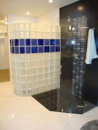 Shower wall window bar design, glass block patterns sizes ...