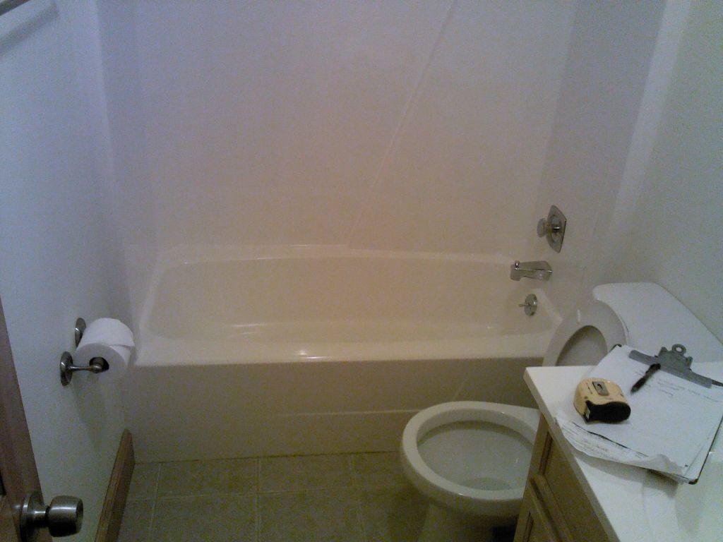 Bathtub To Glass Block Walk In Shower Conversion Shower Tub